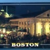 Huffake postcard, Boston