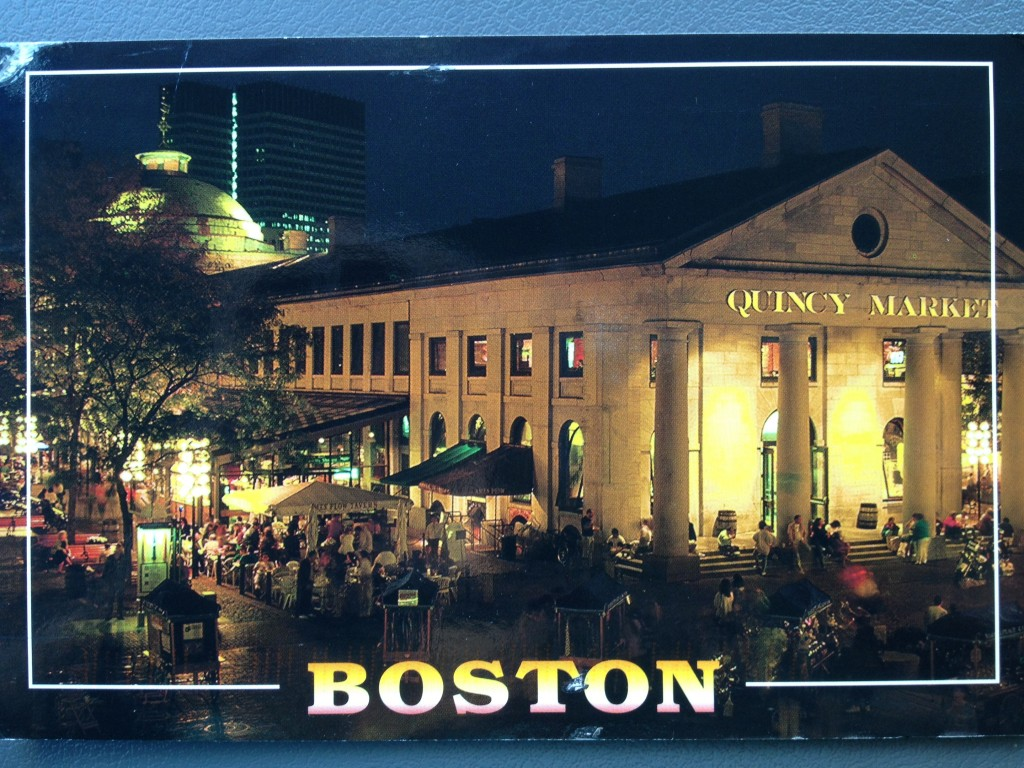 Huffaker postcard, Boston