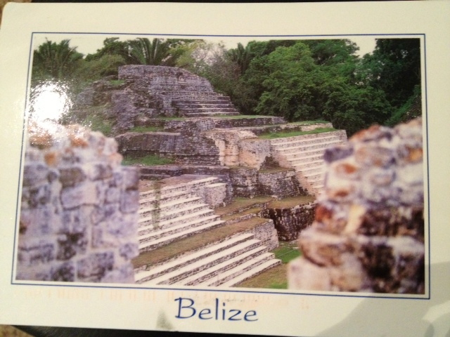 Barb- Belize postcard