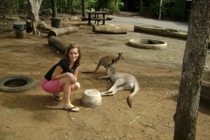 Megan and 'Roo, Rockhampton, Australia