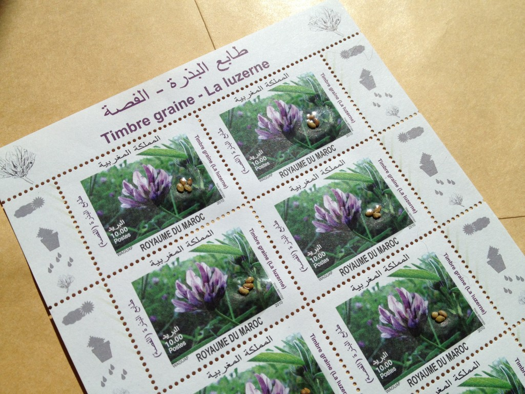 Moroccan stamps
