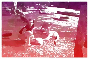 Popsicolor-Megan and 'Roo, Rockhampton, Australia