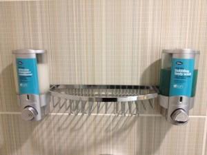 Aloft/ Bliss shower