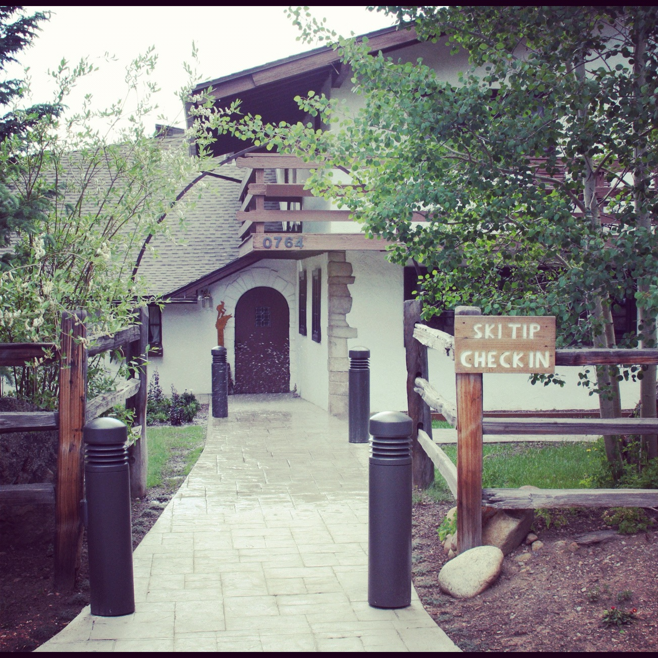 Ski Tip Lodge, Keystone, CO- Entrance
