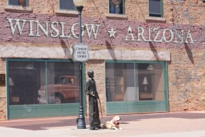 Standin' On The Corner of Winslow, AZ