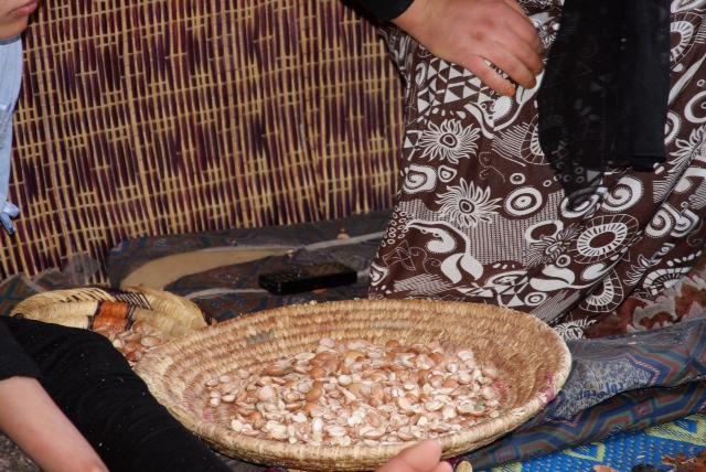 Women's Argan Cooperative-argan product, Morocco