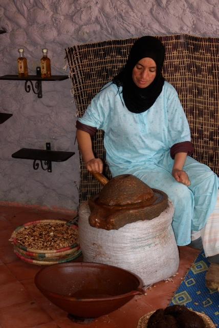 Women's Argan Cooperative, Morocco