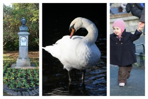 St. Stephens Green, stroll in the park