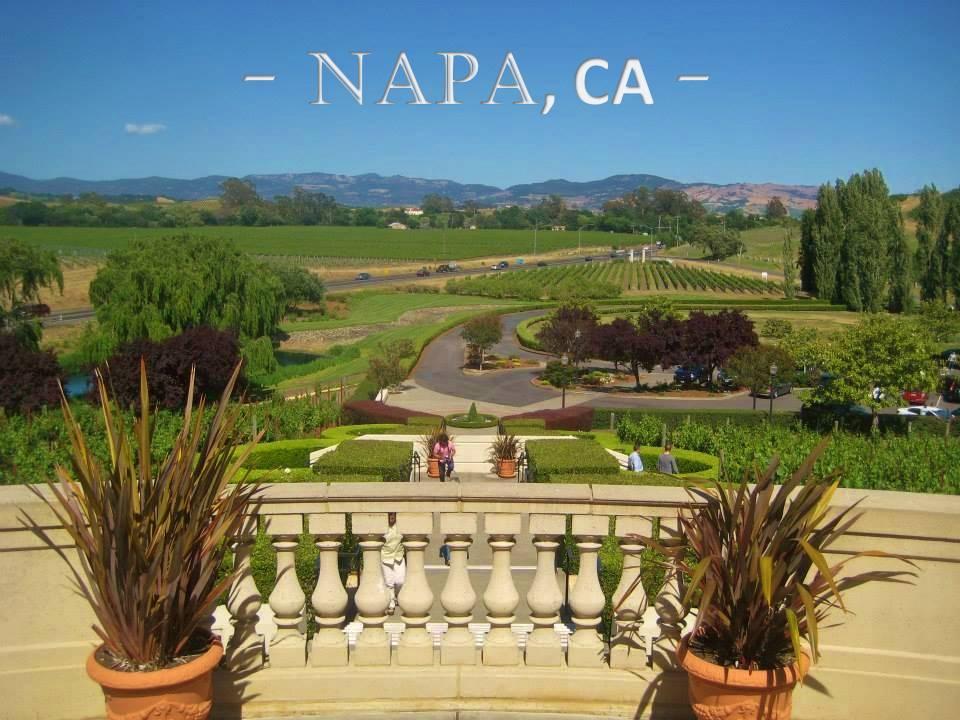 JANEer Christie McIsaac, postcard, Napa, CA