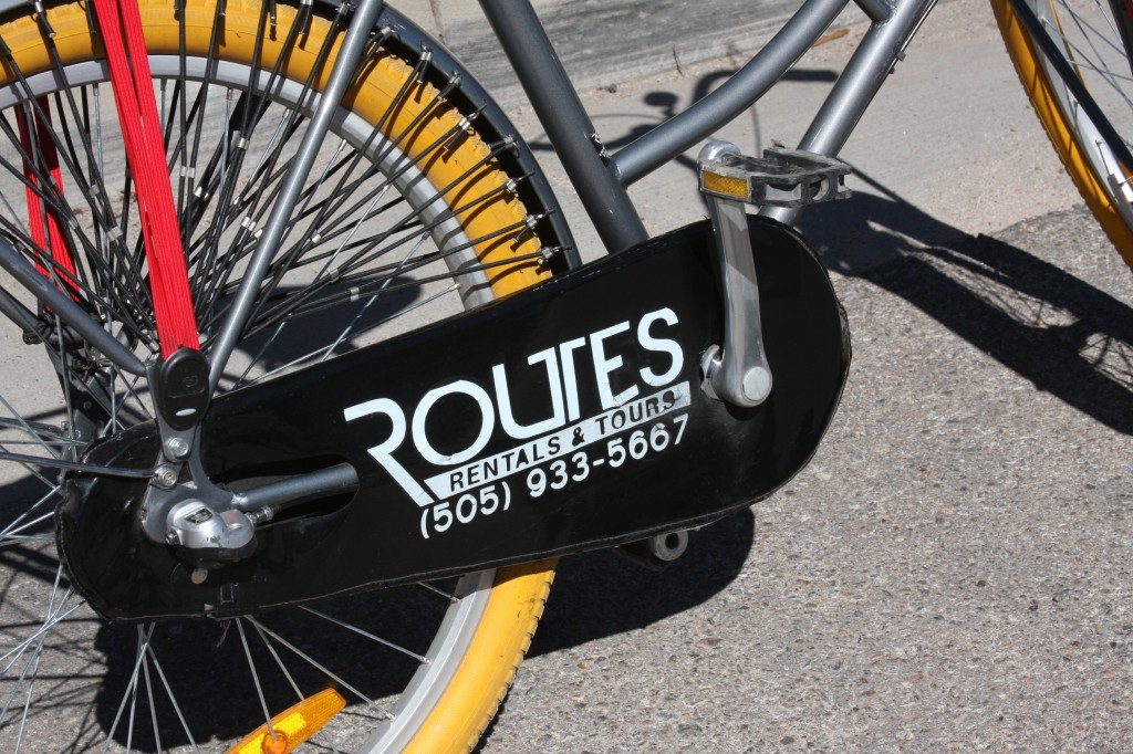 Routes ABQ rental bike